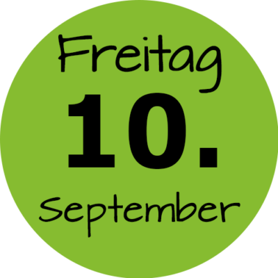 Freitag 10. September 2021