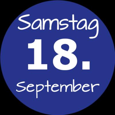 Samstag 18. September 2021